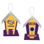 LSU Tigers Birdhouse Centerpiece