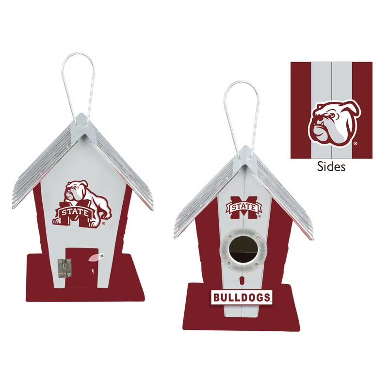 Mississippi State University Bulldogs Birdhouse or Centerpiece