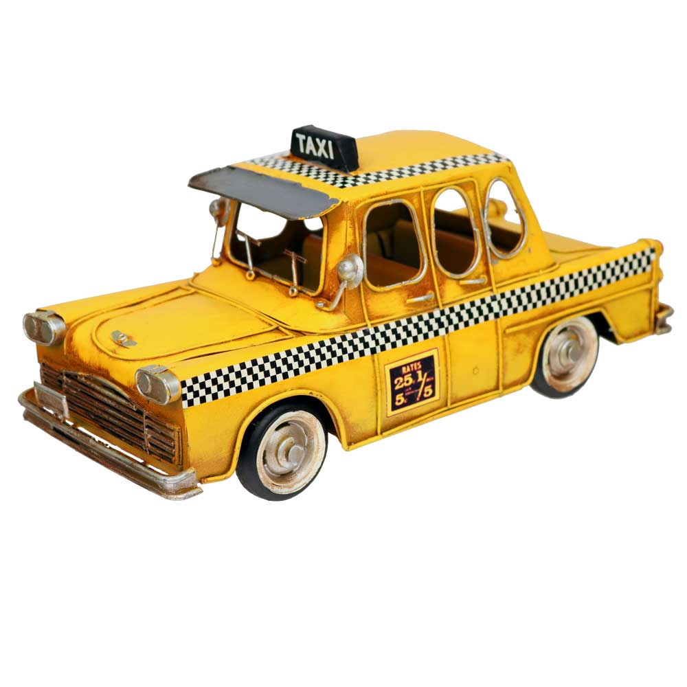New York City Vintage Taxi Cab Centerpiece