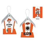 Oklahoma State University Cowboys Birdhouse or Centerpiece