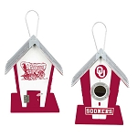 University of Oklahoma Sooners Birdhouse or Centerpiece