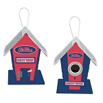 University of Mississippi Rebels Birdhouse Centerpiece