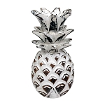 Whitewashed Wood Pineapple Centerpiece - 2 sizes