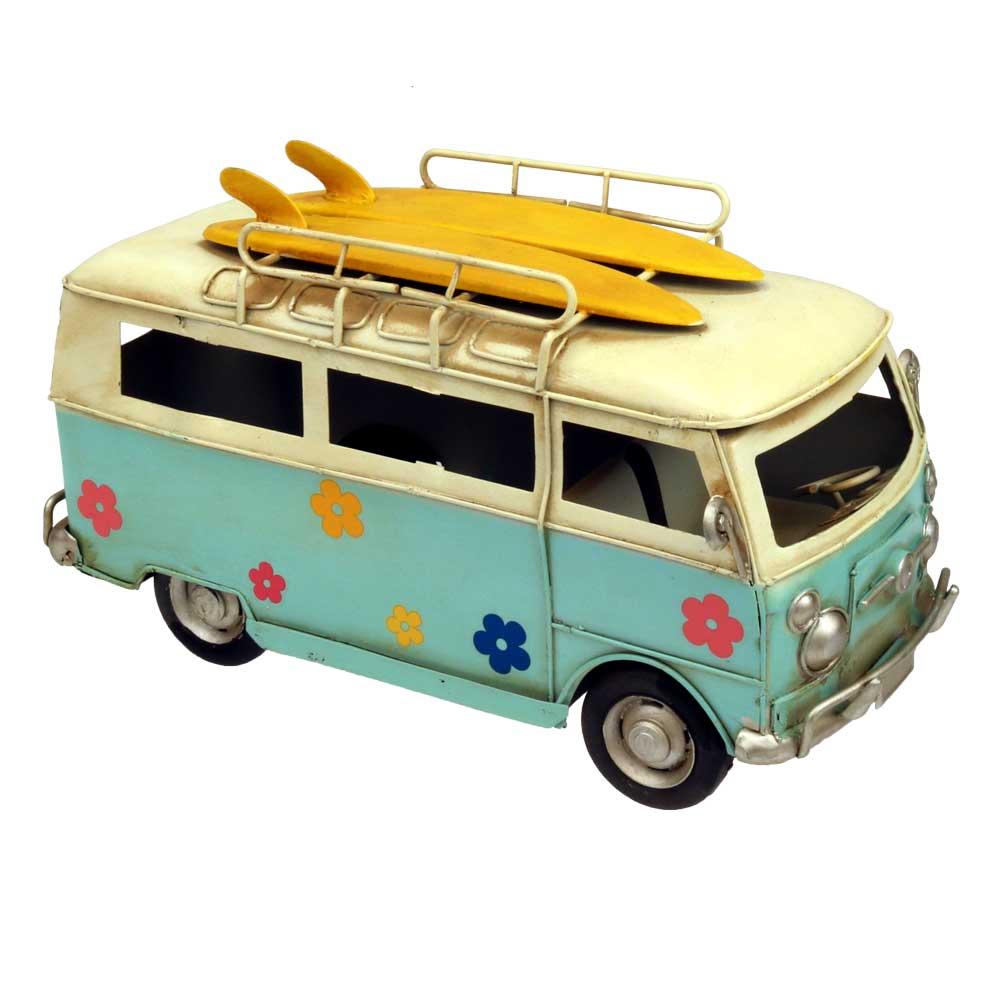 Surfer Retro Vw Beach Bus Centerpiece