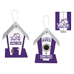 Texas Christian University Horned Frogs Birdhouse or Centerpiece