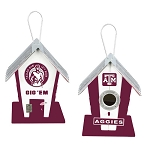 Texas A&M Aggies Birdhouse Centerpiece