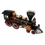 19th Century American Train Locomotive Centerpiece