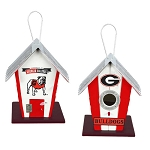 University of Georgia Bulldogs Birdhouse or Centerpiece