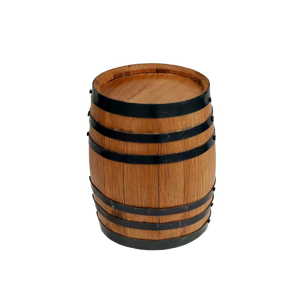 Mini Decorative Wine Whiskey Barrel With Cradle Country Western Wine Themed Party Decorations