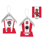 North Carolina State Wolfpack Birdhouse or Centerpiece