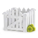 White Picket Fence Centerpiece | Planter