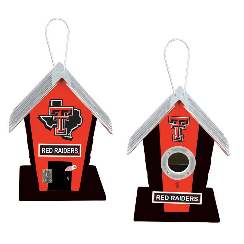 Texas Tech University Red Raiders Birdhouse or Centerpiece