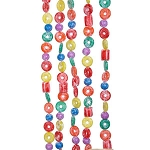6-Foot Plastic Sugared Candy & Life Savers Garland