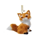 Furry Baby Fox Woodland Lodge Hanging Decoration