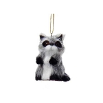 Furry Baby Raccoon Woodland Lodge Hanging Decoration