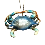 Chesapeake Blue Crab Coastal Hanging Decoration