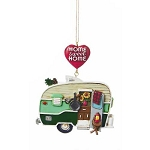Home Sweet Home Retro Camper Trailer Ornament