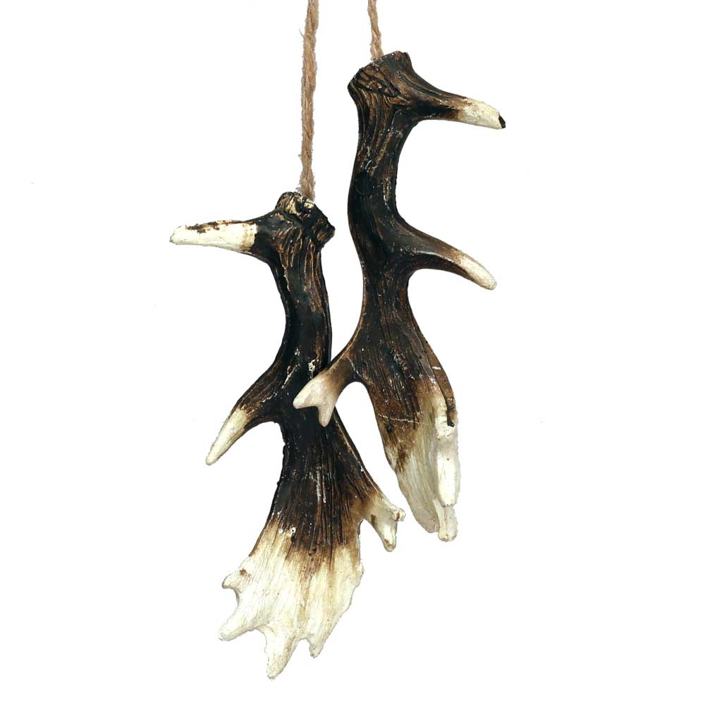Mini Elk Antlers Hunting Lodge Hanging Decoration