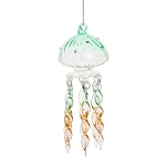 Glass Jellyfish Coastal Hanging Decoration