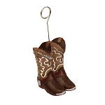 Fancy Cowboy Boots Weight/Card Holder