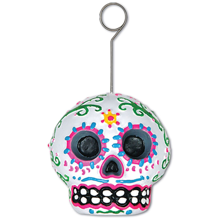 Day Of The Dead Sugar Skull Weight/Card Holder