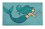 Coir Mythological Mermaid Welcome Mat