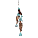 String of Weathered Wood Fish Bones - 3 colors