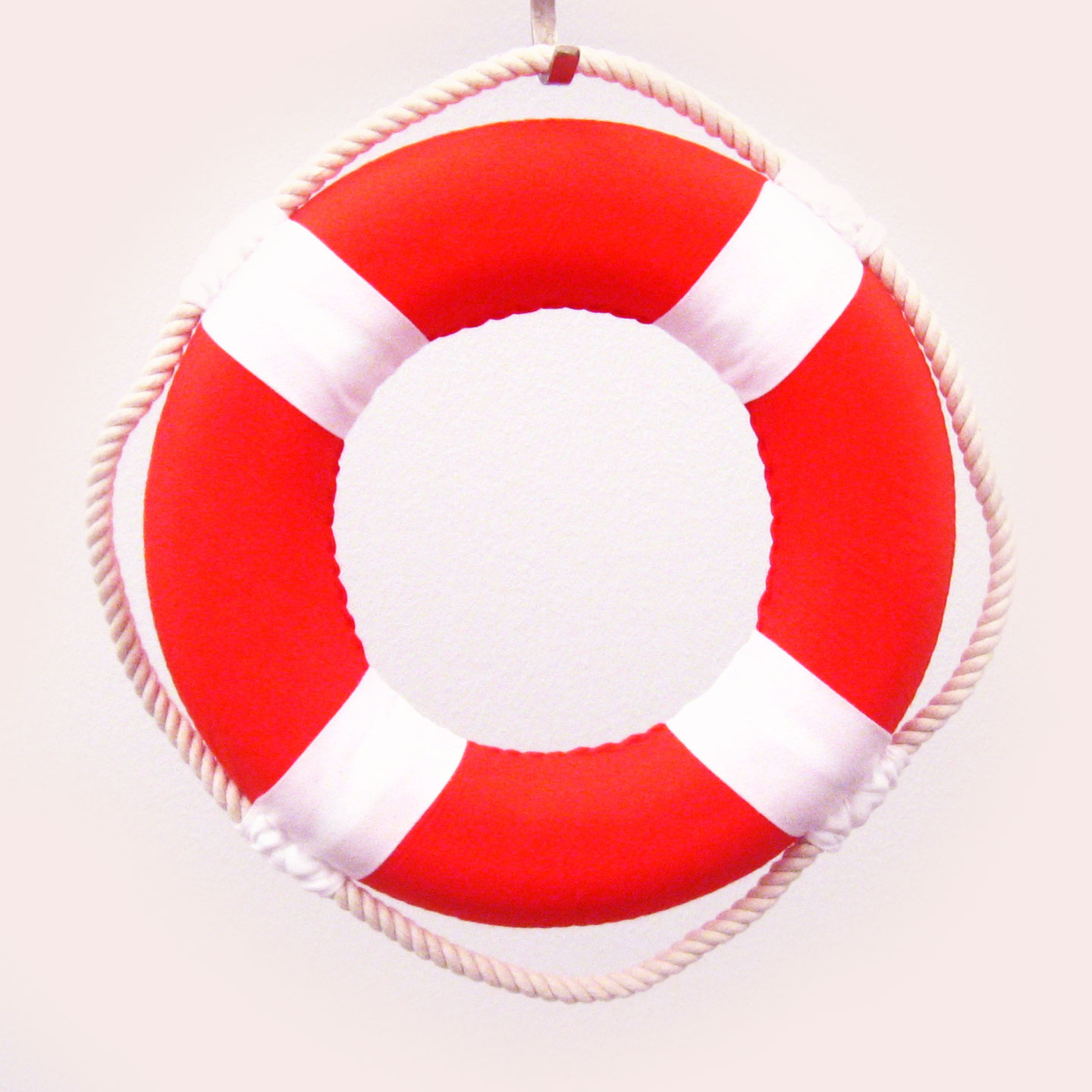 Mini 8 Solid Color Cloth Ered Life Ring Nautical Theme Party Decorations