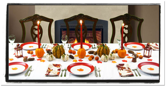 Pumpkin Thanksgiving Centerpiece Ideas
