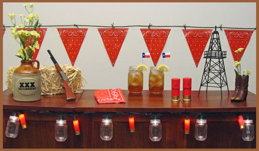 & Country Western Theme Party Decorating Ideas