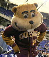 Minnesota Gopher Mascot
