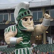 Sparty Michigan State Mascot