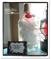 Michelle's Party Plan-It Message In A Bottle
