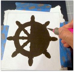 Cut Out Nautical Motif