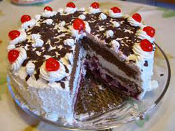 Oktoberfest Germany Black Forest Cake
