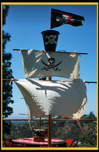 Pirate Themed Party Decorating Ideas   Entertaining