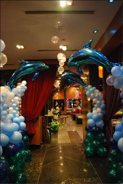 29 under the sea theme party decorating ideas for Fish net decoration ideas