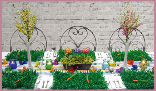 Spring Table Decoration Ideas For Easter