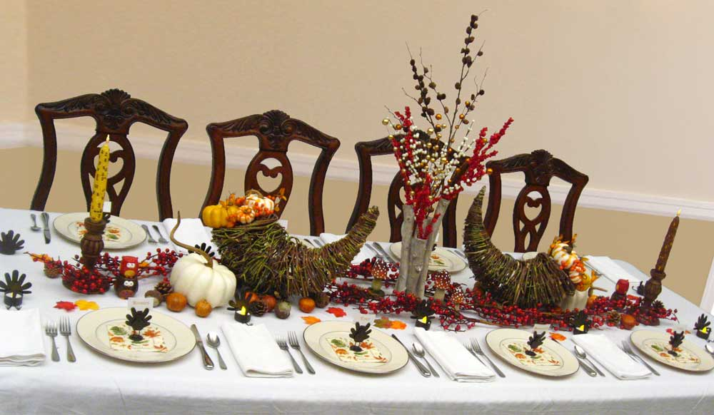 Autumn Amp Fall Centerpiece Ideas Thanksgiving Dinner