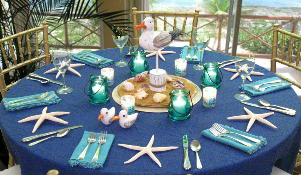 Beach Theme Dinner Party