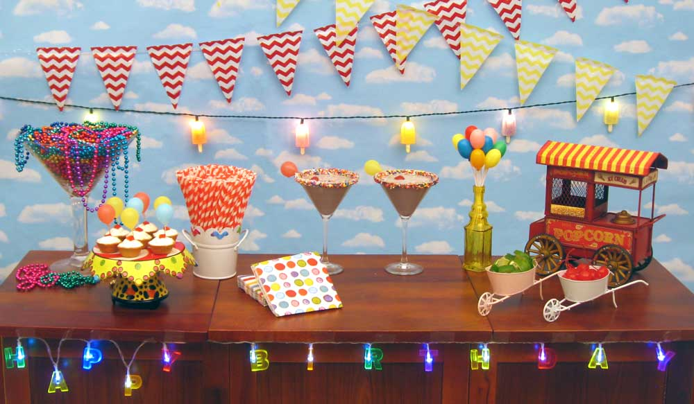 Fun Engaging Birthday Party Decorations Distinctive Candles