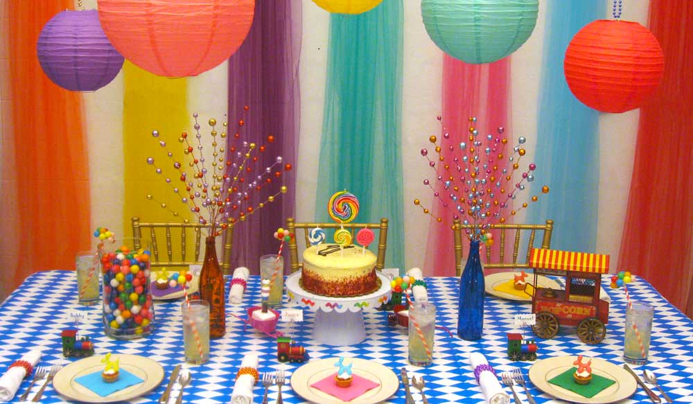 Birthday Party Theme Decorating Ideas
