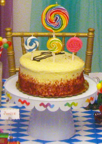 ' ' from the web at 'https://www.partyswizzle.com/assets/images/Scenes/Birthday/BDWhimsicalFocalCake16.jpg'