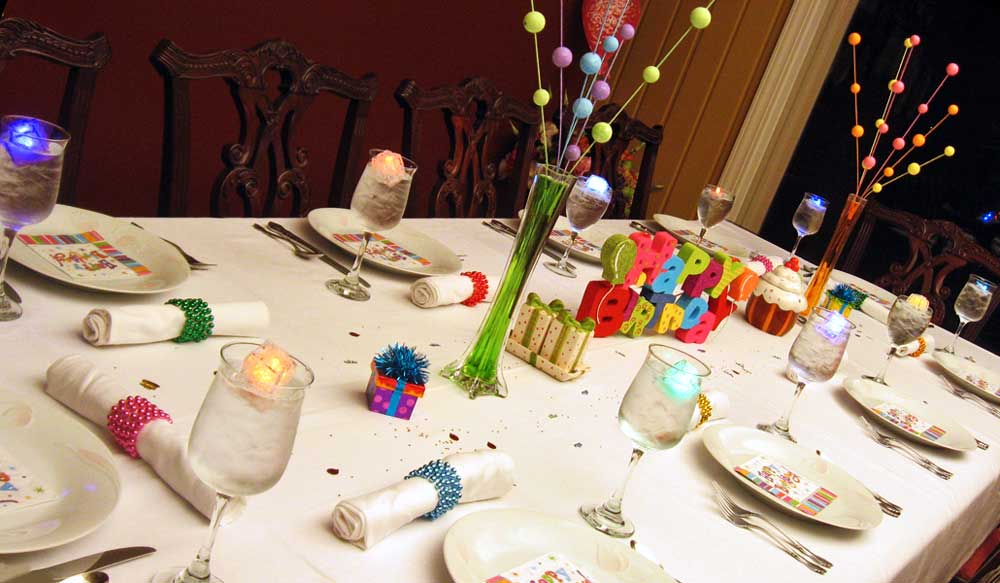 More Birthday Party Decorating Tips