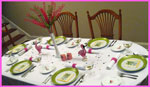 Pink Flamingo Dinner Party