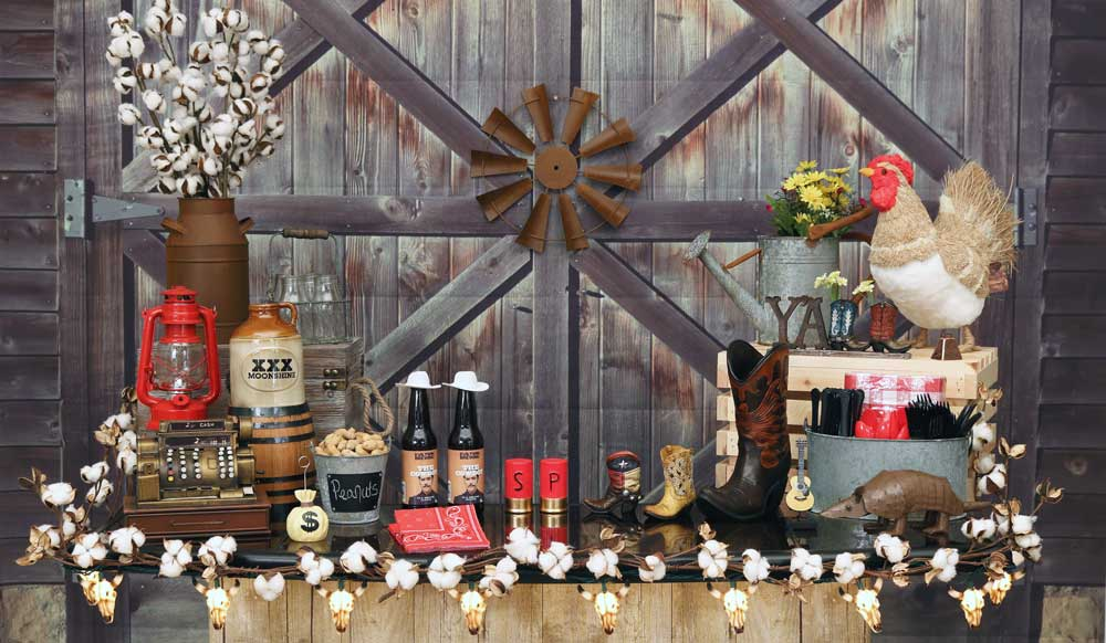 Country Western Decorations