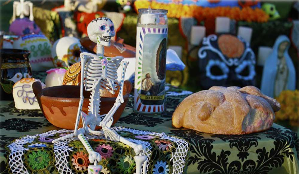 Halloween Day of the Dead Theme