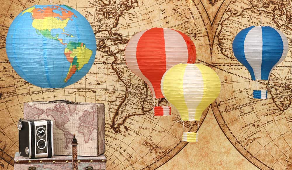 13 Photo Fun Signs Around The World Travel International Birthday Party Event