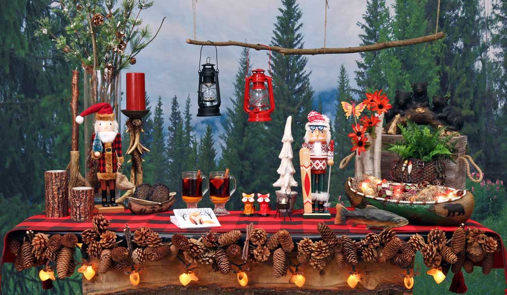 Mountain Lodge & Camping Theme Party Decorations