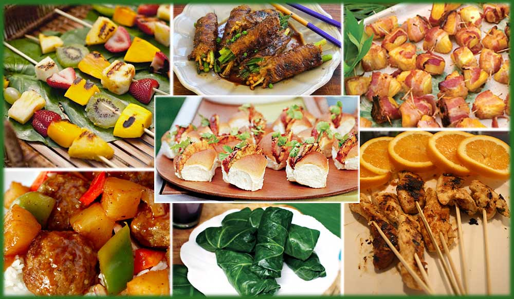 7 Tropical Themed Appetizers